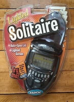 Radica Lighted Solitaire 74014 Unused In Package
