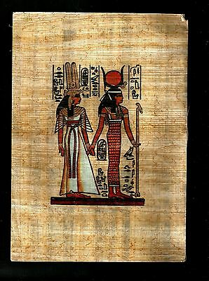Egypt Collectibles Papyrus Pharonic Coloured Handmade Tableaux Replica Lot4