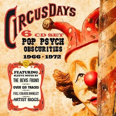 Various - Circus Days. Pop Psych Obscurities 1966-1972. 6CD Box Set + Sealed