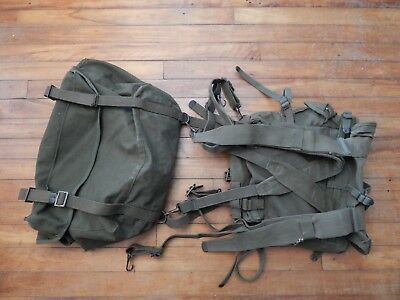 US Army KOREAN WAR-era M-1945 FIELD CARGO PACK complete w/Upper & Lower bags
