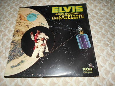 "Elvis Presley album ""Aloha from Hawaii"" R213736 1973 sealed NM-M"