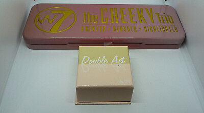 W7 Double Act Bronzer & Blusher Or W7 Cheeky Trio Bronzer Blusher & Highlighter