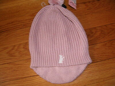 NWT Juicy Couture Pink Knit Hat Girls