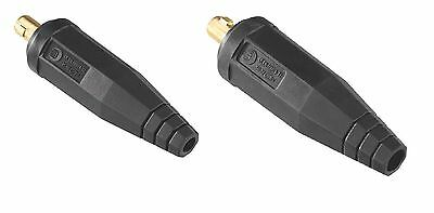 Welding Cable Plug Connector 35-50 , 50-70.Abicor Binzel.Made in Germany
