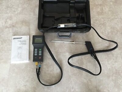 Bacharach Model PCA  24-7190 Portable Combustion Analyzer in Hard Case