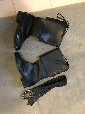 Pirate medieval SCA larp renaissance cosplay steampunk boots and belt