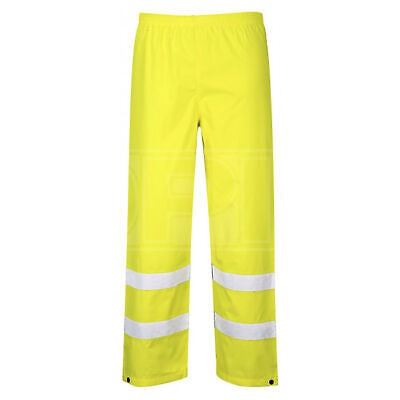 Portwest Hi-Vis Traffic Trousers - Yellow - Large (S480YERL)