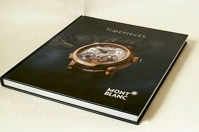 """MONT BLANC """"TIMEPIECES"""" Wristwatch BOOK. 161 glossy, de luxe pages."""