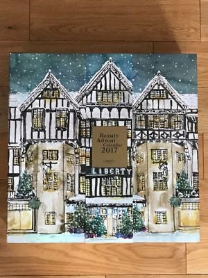EMPTY Liberty London 2017 Beauty Advent Calendar IMMACULATE CONDITION