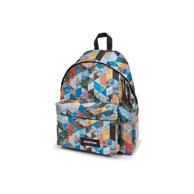 ZAINO EASTPAK PADDED 30x40x18cm TRIANGLE BRIGHT RE SHAPED