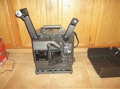 Vintage Bell & Howell 2580 C 16MM FilmSound Projector with Working Lamp & Bulb