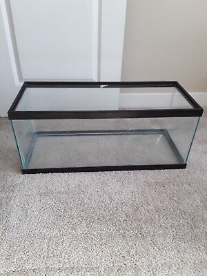 20gal glass aquarium-Long(30in x 12in x 12in)-LOCAL PICKUP ONLY!!! NO SHIPPING!!