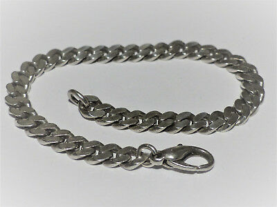Armband, Panzer Muster, in 925 Sterling Silber; Länge: 21,3cm