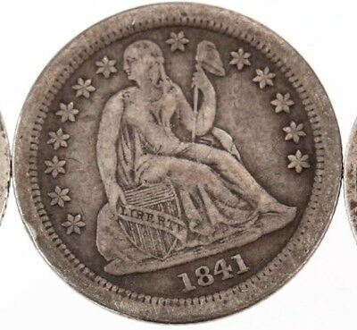 1841-O Seated Dime EF Original Well-Struck Problem-Free NO RESERVE