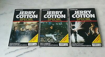 Jerry Cotton Special 3 x Sammelband Nr. 2170 + 2171 + 2190