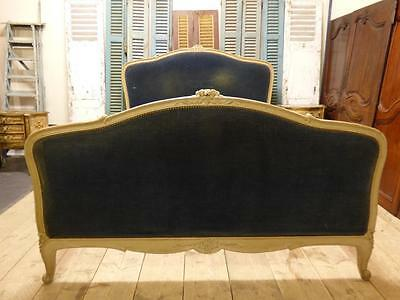 VINTAGE UPHOLSTERED KING SIZE FRENCH BED -  dc87