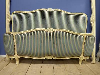 VINTAGE KING SIZE FRENCH BED - 160cm wide - g139 - over 200 French beds in stock