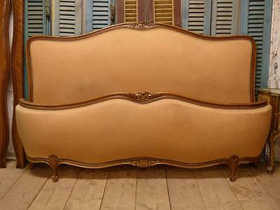 Very Rare Vintage French Super King Size Bed