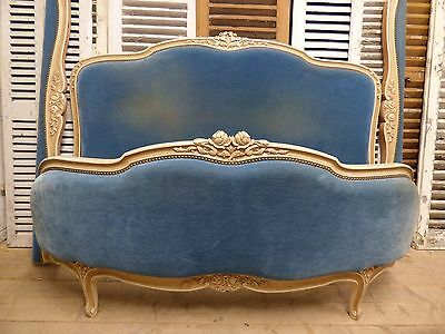 Vintage French King Size Bed - ha75