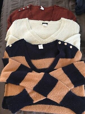 Women's Lot J Crew Sweaters Medium great for work!