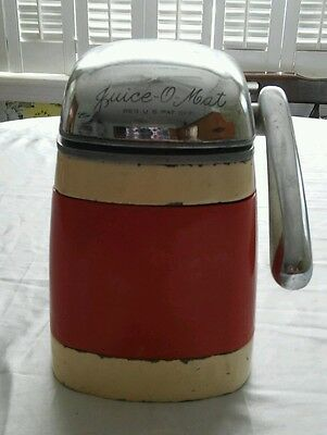 "Vintage Juice o Matic Juicer 1940's-1950's functional Rival ""Vogue"" Model"
