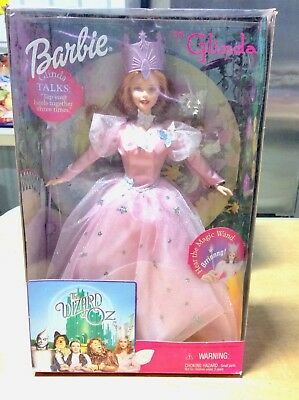 The Wizard Of Oz Barbie As Glinda Characters Magic Wand Collectors Kid Stories