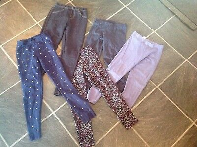 Girls Job Lot Leggings Age 9-10 Years