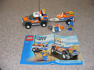 Lego City Coast Guard 7738 Retired 100 Complete Winstructions