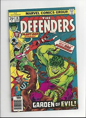 The Defenders #36 Marvel Comics 1976 VF Hulk, Doctor Strange