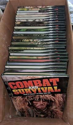 Lot of 28 Books - Combat and Survival What It takes to Fight Win - Complete Set