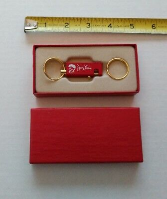 Jerry Lewis exclusive cast & crew gift key ring. From Damn Yankees Tour.