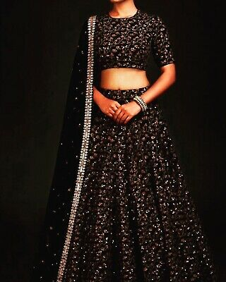 Lehenga chaniya Choli Skirt Top Indian Women/kids Bollywood Party wedding ethnic