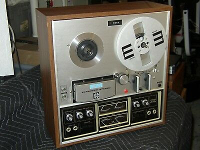 AKAI 1730D-SS 4 Channel Quardaphonic QUAD Reel To Reel Tape Deck Recorder Player
