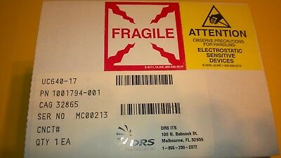 DRS Technologies Thermal Camera/Imager UC640-17, Can't be Exported