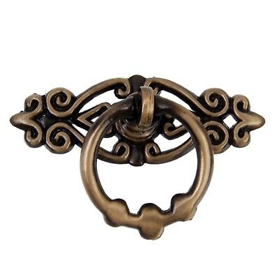 OULII Door Drawer Pull Handles Cabinet Cupboard Dresser Ring Pulls Pack of 10