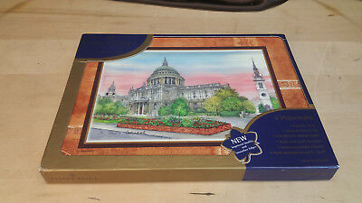 6 Vintage Unused Pimpernel English Placemats 'Old London' new in box