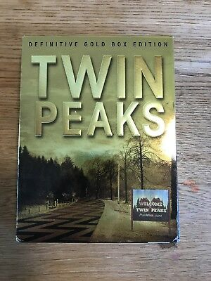 Twin Peaks - The Definitive Gold Box Edition (DVD, 2017)
