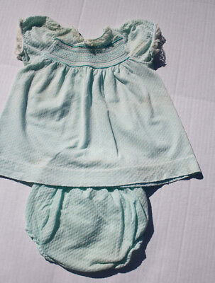 Vintage 1950's Baby Clothes Carters Outfit reborn doll