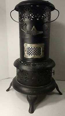 "Perfection 525  Kerosene Oil Heater Complete with oil tank  24"" Tall"