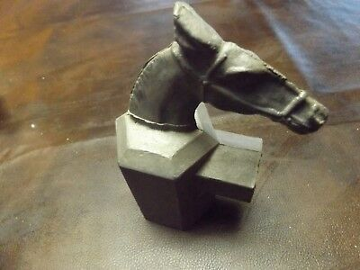 Horse Cast Aluminum  Post End Caps ~ Vintage Fence Toppers Gate Doors Decoration