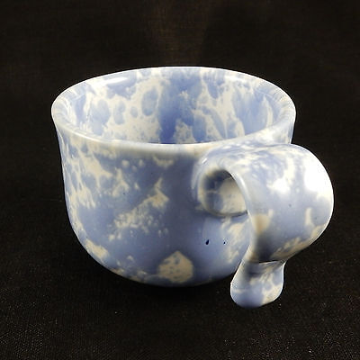 Bennington Potters Agate Morning Glory  Blue Cup 16029