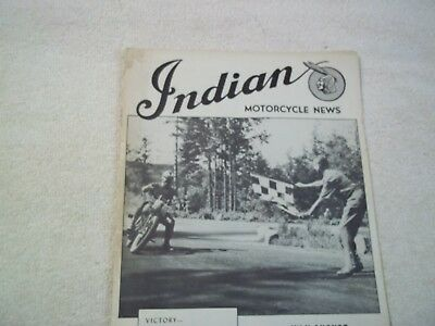 INDIAN MOTORCYCLE NEWS July August. 1946 issue