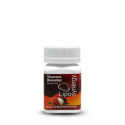 Lipo Synergy Thermo Booster 30 days capsules Burn Fat Slimming (100% Natural)