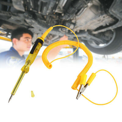 DC 6/12/24V Performance Auto Car Motorcycle Circuit Voltage Tester Pen Yellow BT