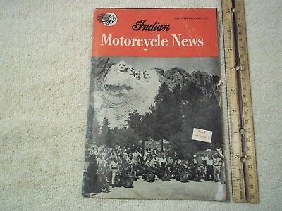 INDIAN MOTORCYCLE NEWS November December 1946 issue