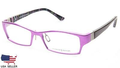 41602126557 NEW PRODESIGN DENMARK 7901 c.3021 LILAC EYEGLASSES FRAME 52-16-135 B29mm