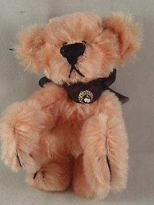 Artist Artisan Teddy Bear Pink German Mohair Curved Paws Ooak~Adorable!!