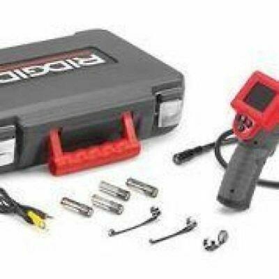 RIDGID Micro Inspection View Camera Leak Wall Image Handheld LCD Electrical