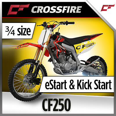 "Crossfire CF250 250cc Dirt Bike  19"" 16""  Similar size to CRF125/150"