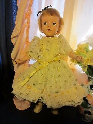 "Vintage American Character doll ""Early Face"",HP. 17inches Sweet Sue"